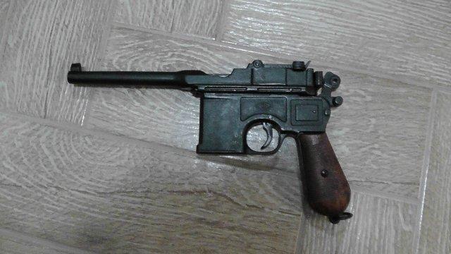 Пистолет Mauser C-96 (ММГ) 6311a4a170a4