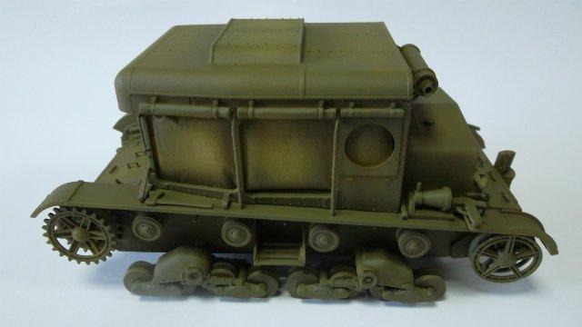Тягач Т-26 / трофейный польский С7Р, 1/35, (Mirage hobby 35903). 87258b08845c