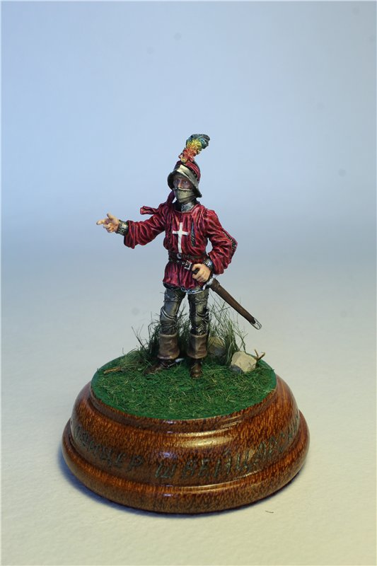 Офицер швейцарской пехоты, 1450-85 гг. 1eff0f2a2c28