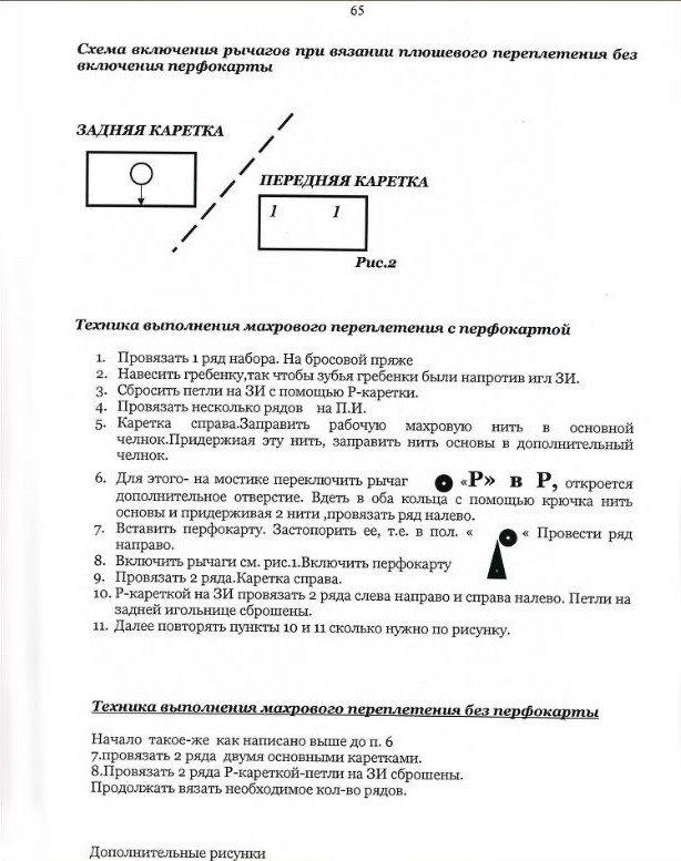 Начальный курс по обучению вязания на вязальной машине SILVER REED   - Страница 4 44643b20cb1b