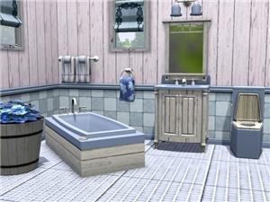 Ванные комнаты (деревенский стиль) 750fd57876fa