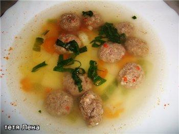 Суп с фрикадельками F386113dc679