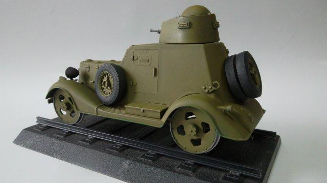 Бронеавтомобиль БА-20 Ж/Д, 1/35, (Старт). 5b480b490d59