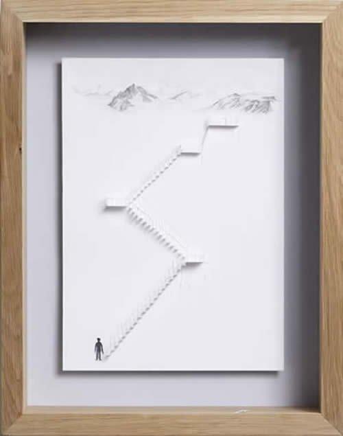 Невероятные работы  (Peter Callesen) Cb8b76c6166f