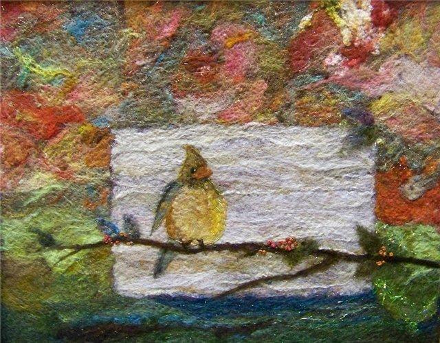 Deebs Fiber Arts создаёт чудесные картины из войлока. E99b9772210c