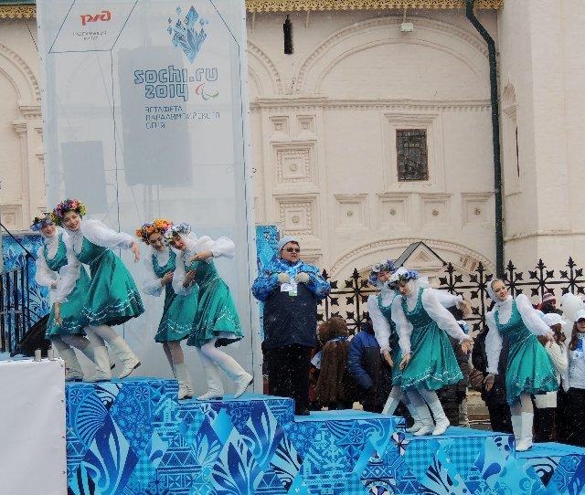 "Эстафета Паралимпийского огня ""Сочи 2014"" в г. Ярославле C38331d453c6"