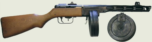 Ствол и ствольная коробка пистолета-пулемета Шпагина (ППШ-41) (ммг) B414efc177af