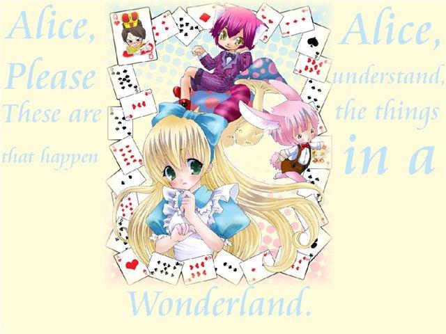 Арты на тему: 'Alice in Wonderland' Bd4a2ce44e8c