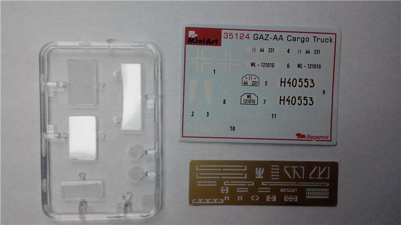 GAZ - AA Cargo truck MiniArt 1:35  2027890ae305
