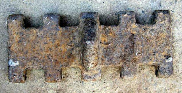 Трак от гусеницы танка Panzerkampfwagen IV 68c2ecb0ee40