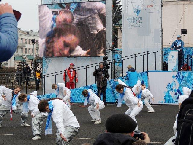 "Эстафета Паралимпийского огня ""Сочи 2014"" в г. Ярославле Bdde261958dc"
