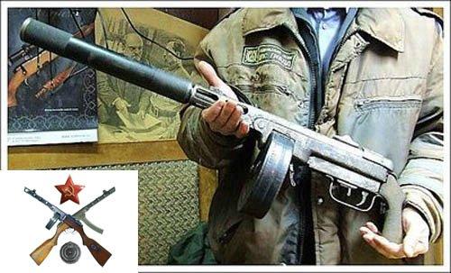 Ствол и ствольная коробка пистолета-пулемета Шпагина (ППШ-41) (ммг) 3bb62221b017