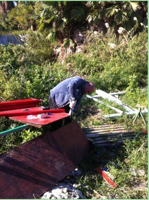 Катамаран для рыбалки на Кинерете  8829e2e36ac8