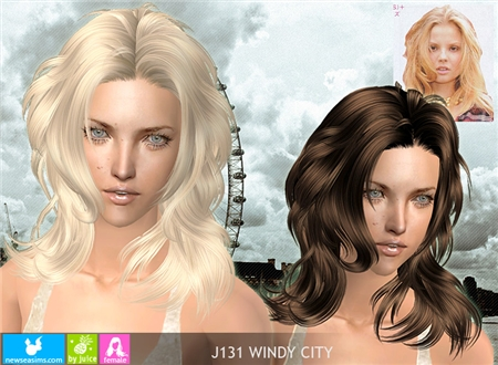 Прически для The Sims 2 .Женские Fb50f70d5c8a
