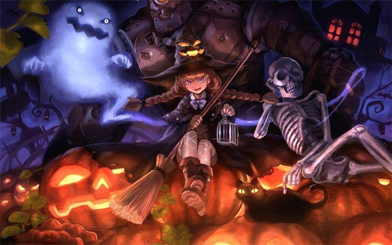 А вот и гости! - Персонажи Хеллоуина Bbc71515615e