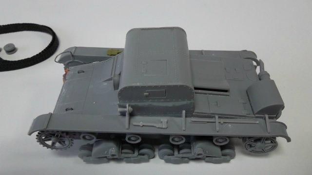 Т-26Т артиллерийский тягач, 1/35, (RPM 35072). Bdce8ec1bfaf