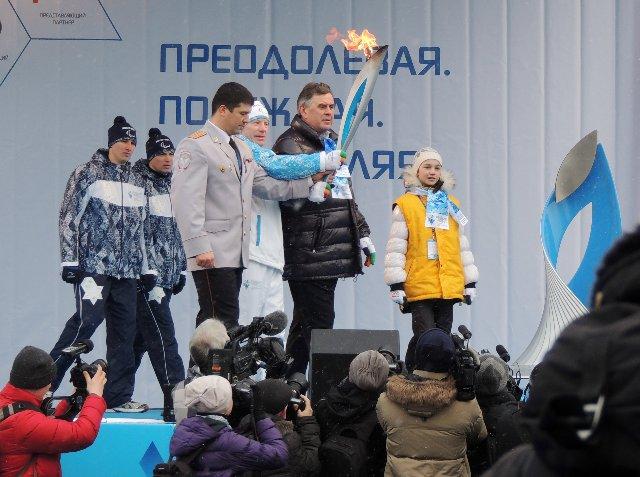 """Эстафета Паралимпийского огня """"Сочи 2014"""" в г. Ярославле 982ed9040c10"""