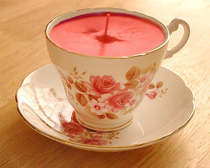 Как сделать свечу в чашке 722be9875a76