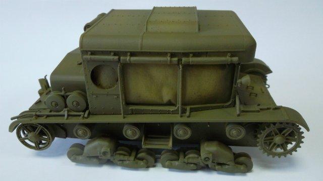 Тягач Т-26 / трофейный польский С7Р, 1/35, (Mirage hobby 35903). 1c2f91e50580