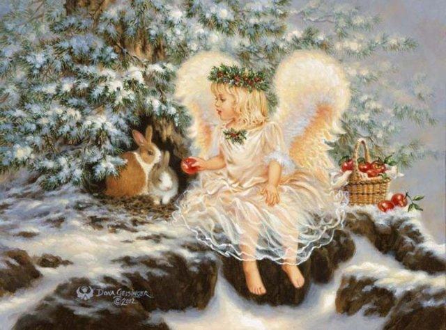 Рождественские ангелы от Dona Gelsinger 83aff6660588