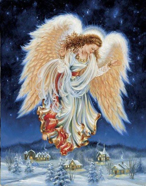 Рождественские ангелы от Dona Gelsinger 1fe469d61268