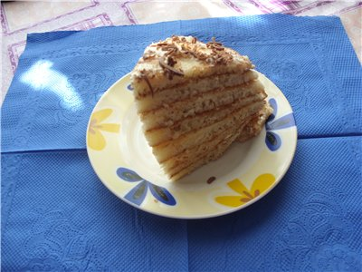 Быстрый торт на сковородке B93096dd7372