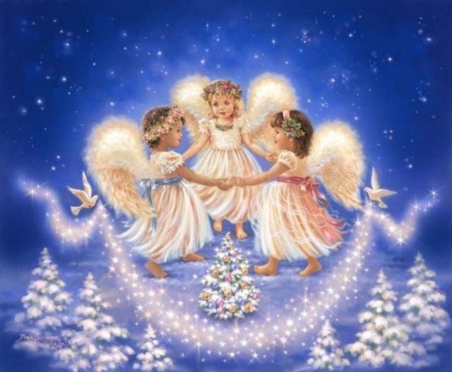 Рождественские ангелы от Dona Gelsinger 9f0602b173bd
