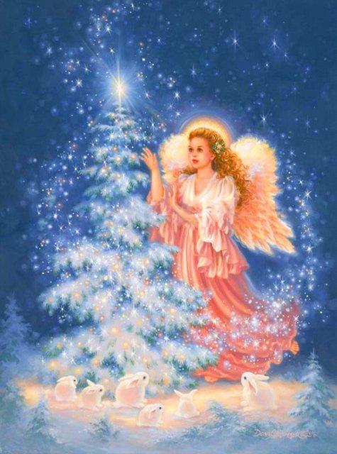 Рождественские ангелы от Dona Gelsinger Bb87bca128ce