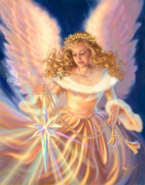 Рождественские ангелы от Dona Gelsinger D9cf8ad78b48