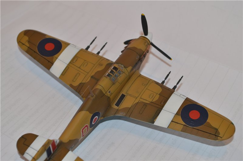 Hawker Hurricane МкIIc (Revell) 1/72 0aa91c5e78b4