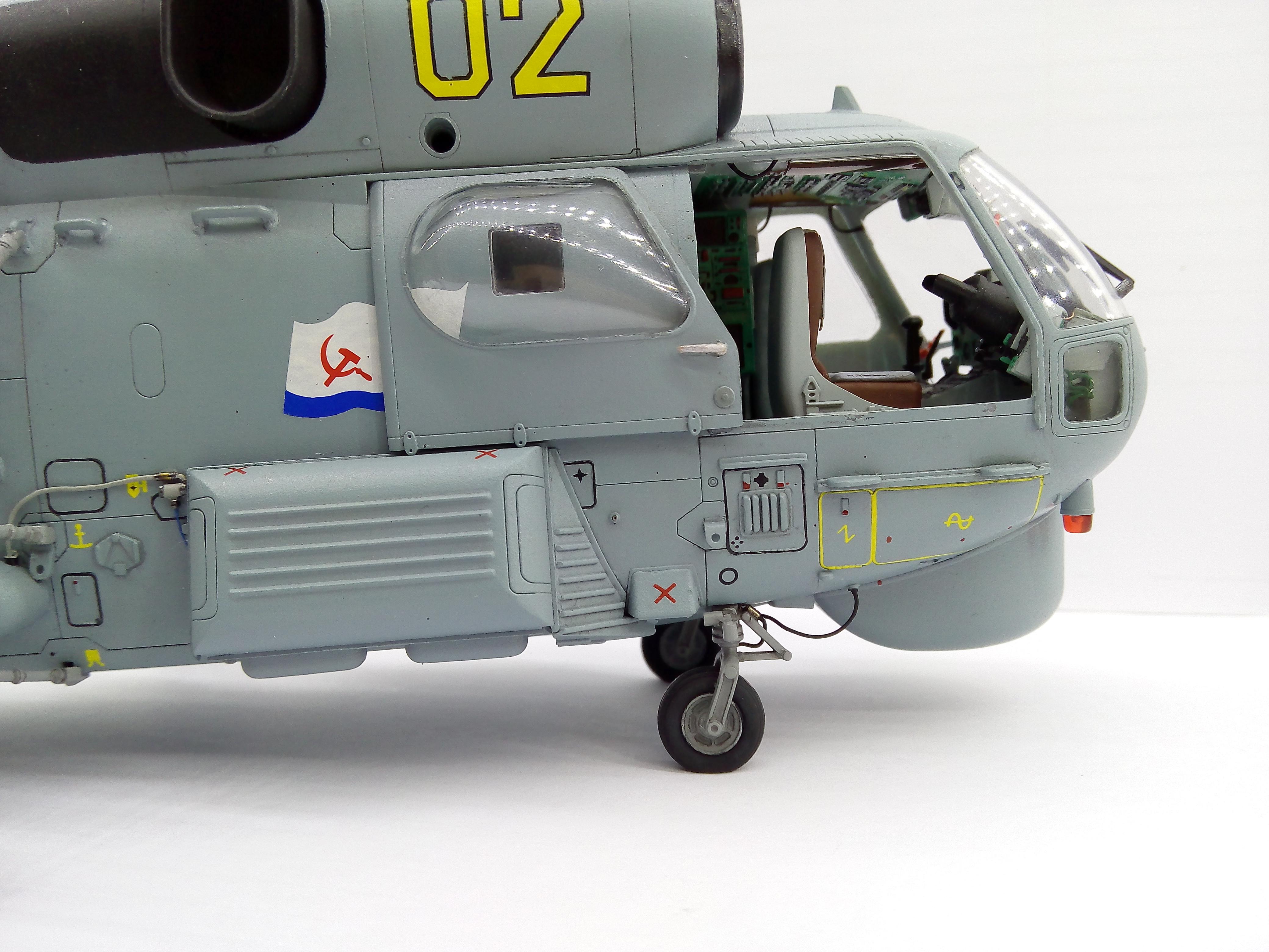 Ка-27ПЛ 1/48 HOBBYBOSS - Страница 3 6aca1cb3711f