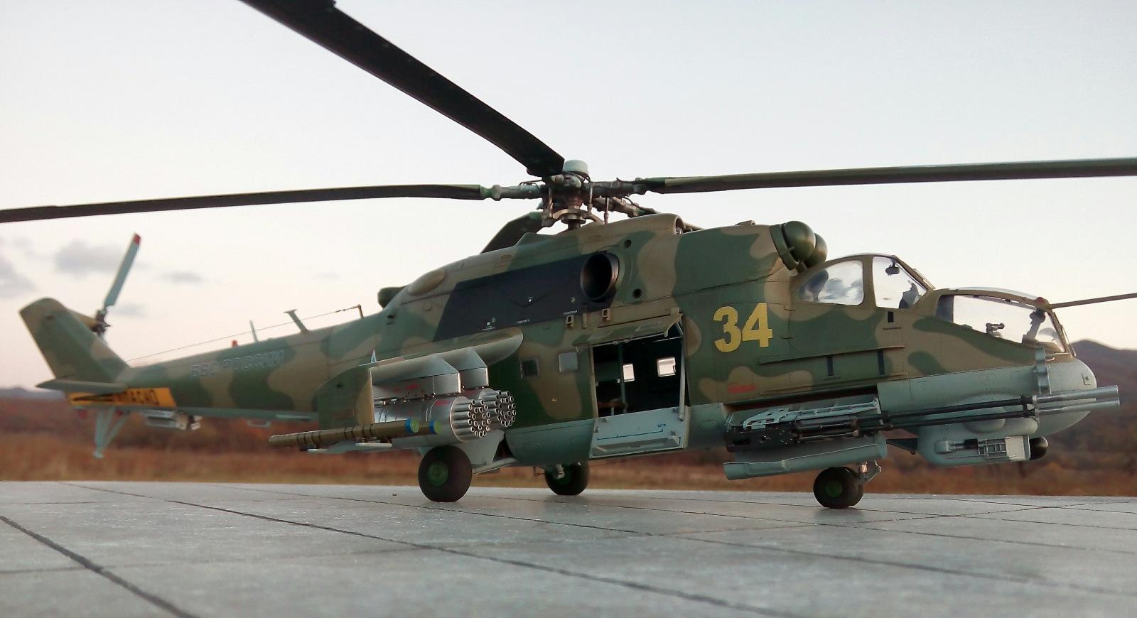 Ми-24П. Trumpeter. 1/35 A229d8a8fb98