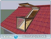 Как сделать такое окно на крыше? Bc5d99e8d082