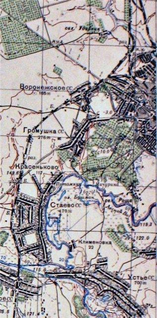 Козлов-Мичуринск на картах 018a2fb83d0d