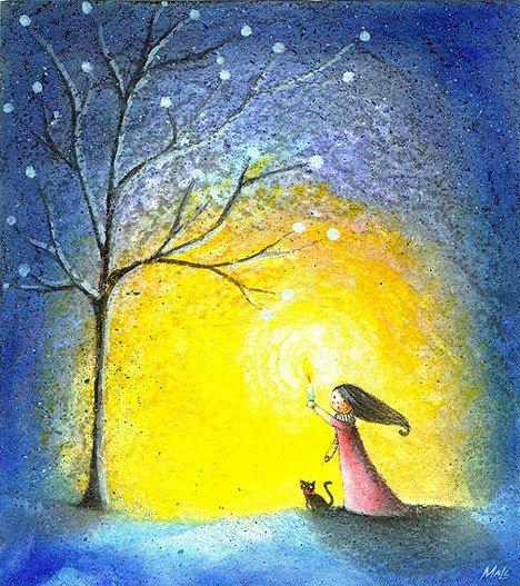 Рисунки детства от May Ann Licudine Bea1bc6c588d