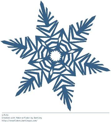 Зимнее рукоделие - вырезаем снежинки! - Страница 3 0cc026478c0a