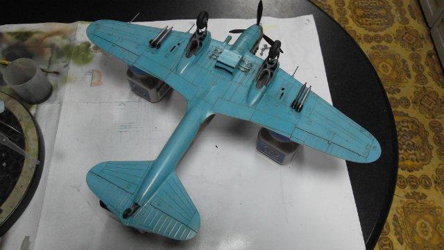 Ил-2, масштаб 1/48, (Tamiya 61113). 941ee10d78fd
