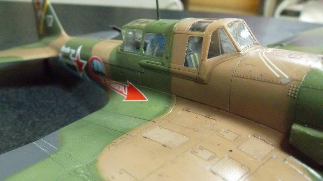 Ил-2, масштаб 1/48, (Tamiya 61113). F6fd34d6d459