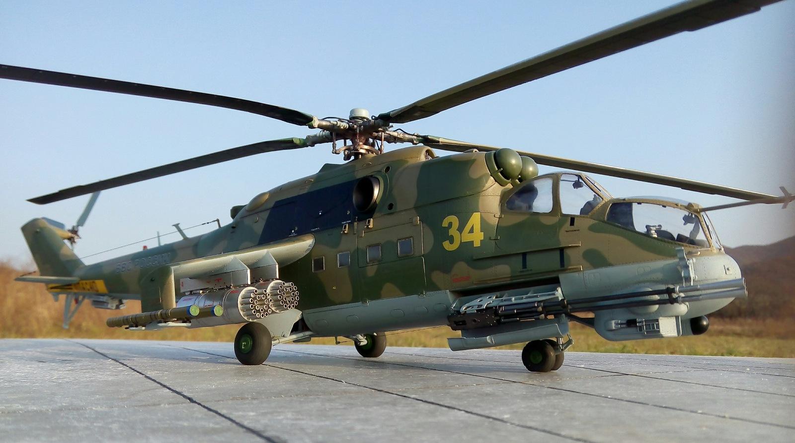 Ми-24П. Trumpeter. 1/35 A8d031f4d50e