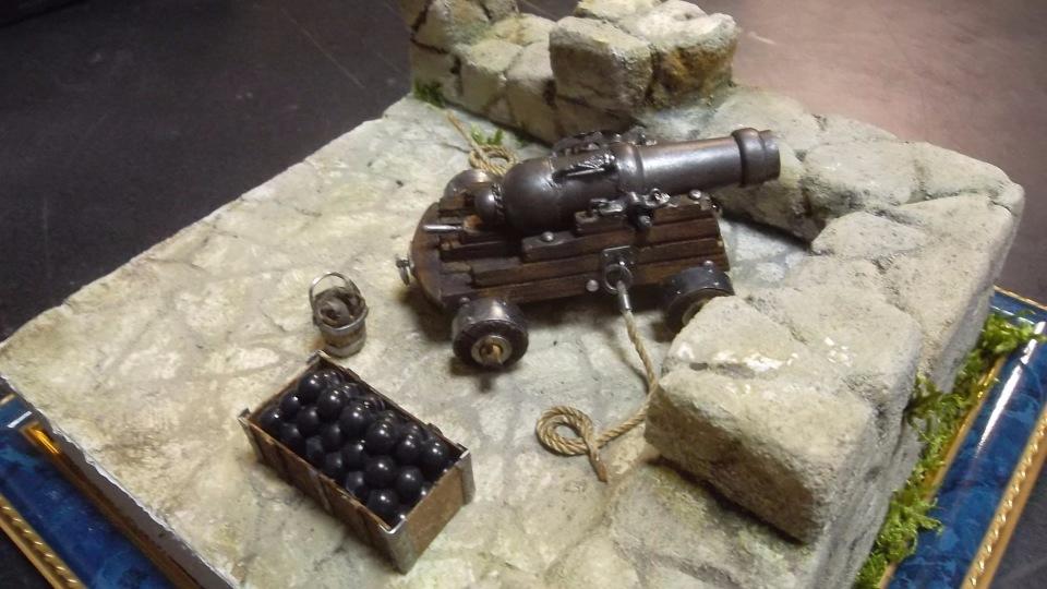 Крепостная пушка. Автор: Валерий Белов. D89b74d58053