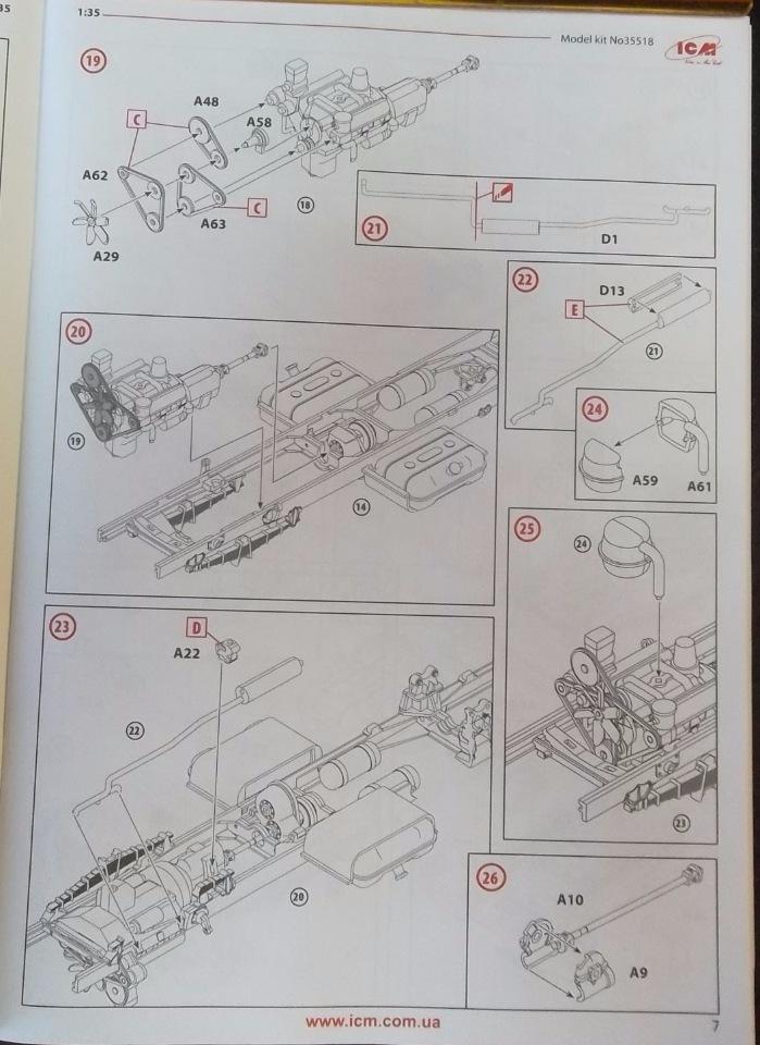 Обзор ЗиЛ-131 Аварийная служба / КУНГ, 1/35 (ICM 35518).  41fdcc8428b5