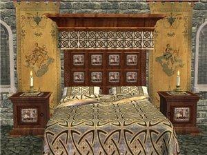 Спальни, кровати (средневековье) 5e12f35ed117