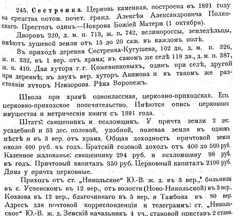 Козловский уезд Тамбовской губернии F8821be32249