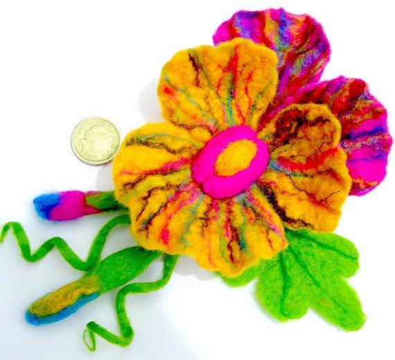 Цветы из фетра C021473f952f