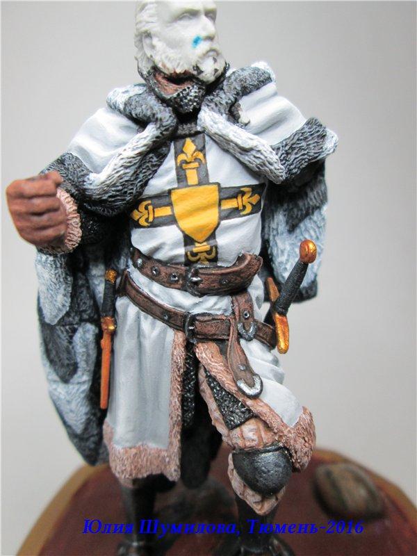 Великий Магистр Тевтонского ордена, 14в.. На Конкурс по росписи миниатюры. B9a198b33d3a