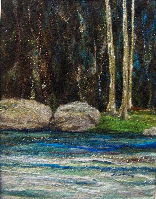 Deebs Fiber Arts создаёт чудесные картины из войлока. Fa5a965d1475