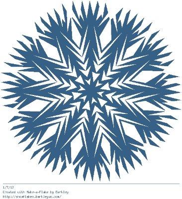 Зимнее рукоделие - вырезаем снежинки! - Страница 10 4a97378d1a6f