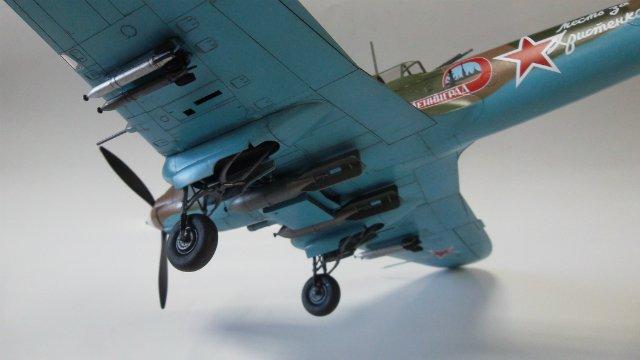 Ил-2, масштаб 1/48, (Tamiya 61113). 799fc5230921