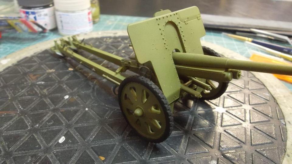 76-мм Дивизионная пушка Ф-22 обр.1936г., 1/35, (ICM 35702). Cc415fd2d036