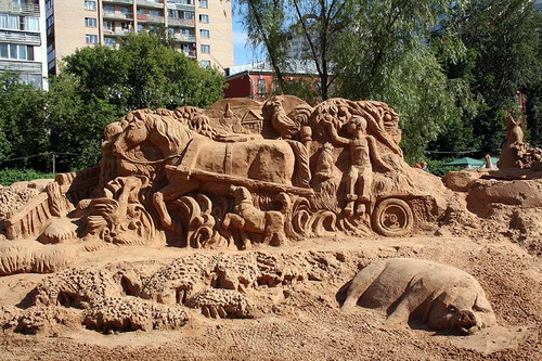 Лепим из песка 0ea856c0253a